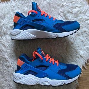 Nike Huarache Blue & Orange